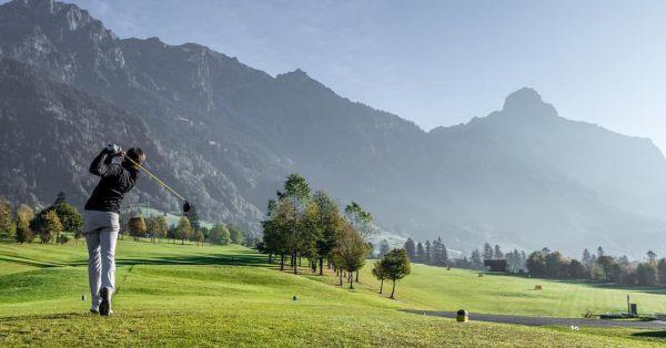 #golf #gcbludenzbraz #klostertal #autumn #morning #sunrise #mountains Golfclub Bludenz-Braz