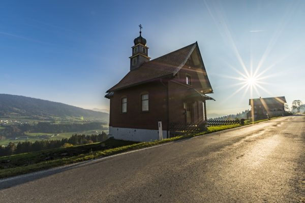 little chapel by the road Sulzberg (Vorarlberg) #landscape #wonderful_places #myplace #nichtsistreal #allesisterlaubt #igpicoftheday ...