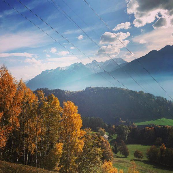 Wenn es Herbst wird..#unservorarlberg #herbst#wandern#relaxen#herbststimmung#hensler Schnifis, Vorarlberg, Austria