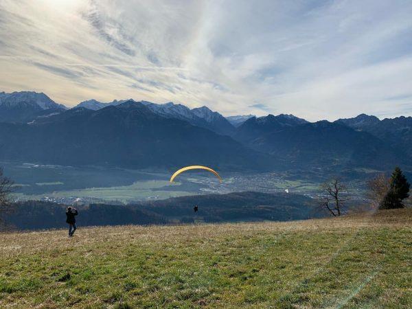 Es war der Wahnsinn 😍 #Gleitschirm #nofilter #vorarlberg Schnifis, Vorarlberg, Austria