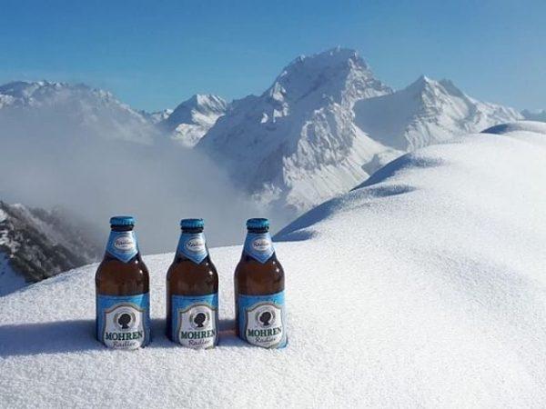 Bereit für den Winter? #skigaudi #apresski #vorarlberg #schneeschuhwandern #ski #snow #snowboarding #bier #radler #mohren #dasvorarlbergerbier Thx to...