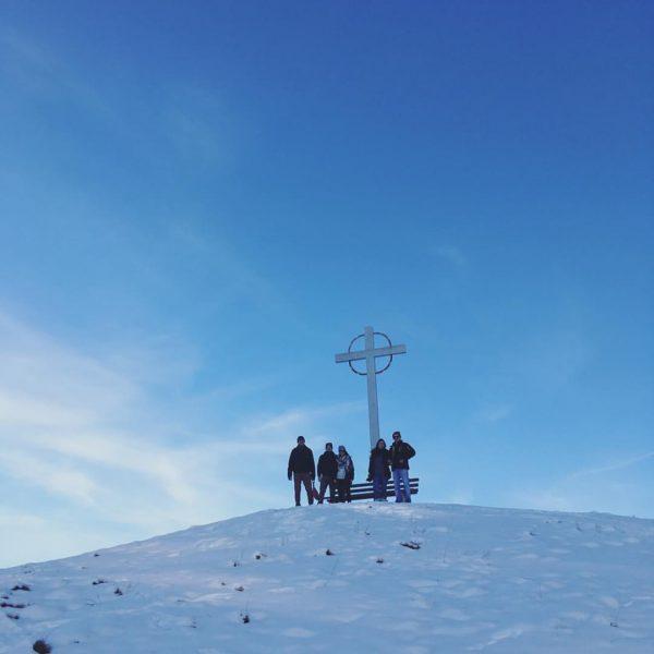 🏔 #vorarlberg #triumphderästhetik #oaschlecheln #ländle #schnaps #sischguatgsi #gsiberg Übersaxen, Vorarlberg, Austria
