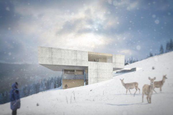 House Z #dornbirn by @marte.martearchitects #concrete #concretearchitecture #architecture #vorarlberg #austria #martemartearchitects Kehlegg, Vorarlberg, ...