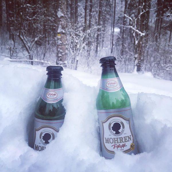 #2friendsinthewood #wintervibes #winterwonderland #winter @mohrenbrauerei