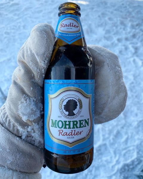 only in #vorarlberg #saurerradler #mohrenbräu #bier #gspritzt #isotonisch #sportgetränk #cupghörig #schwarzenberg #bödele #raceday #drinkwell #stayhydrated #beer #nearwature...