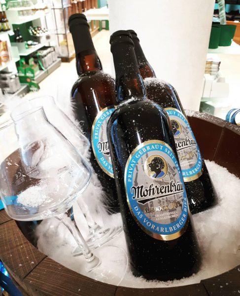 Mohren Eisbock❄❄ ❤ #wärmtvoninnen #bierliebe #bier #biervielfalt #spezialitäten #handcrafted #beer #mohren #bock #dessert #winter #anstich #followforfollowback #dasvorarlbergerbier