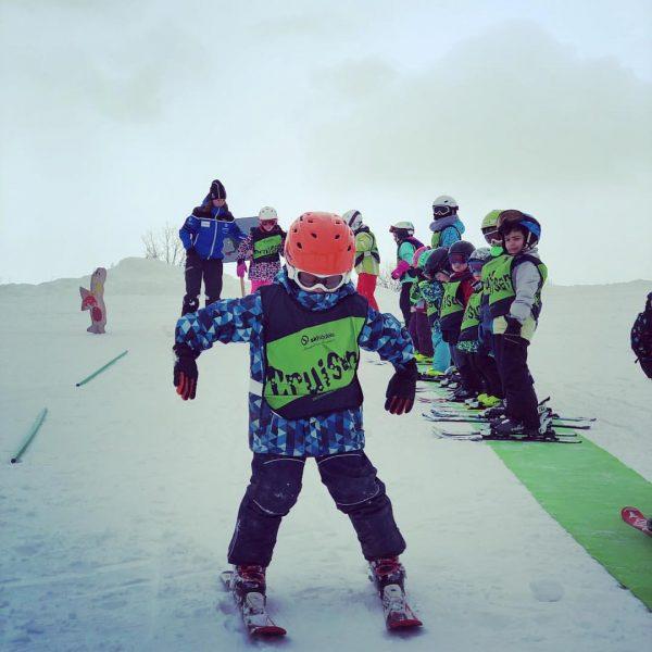 Skifahren in der Gruppe Endlich, heute startete unser erstes Cruiser Team in die ...