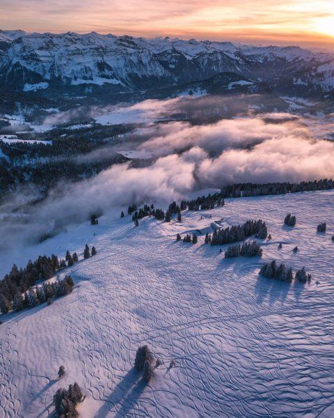 Der Niedere Hang, mehr als 500 Höhenmeter Freeride-Vergnügen! Achtung: Immer den aktuellen Lawinenlagebericht ...