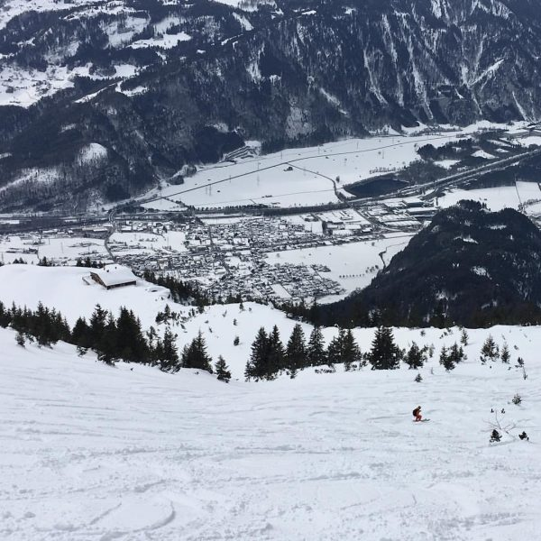 Great start into the #winterholidays in #vorarlberg : the sun did not shine all day long but...