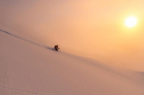 Our Guide ERHARD WALLNER scoring the GOLDEN hour with @nadinewallner in the @servustv ...