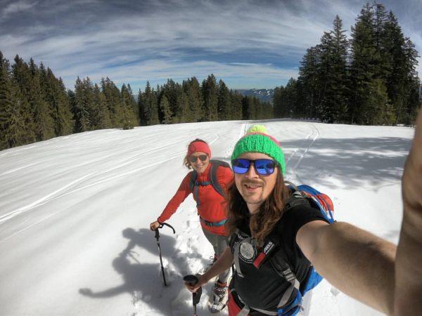 😁😁🤙🏽🤙🏽👌🏽👌🏽 #austria🇦🇹 #vorarlberg #bregenzerwald #bödele #spring #snow #splitboard #mountains #alps #gopro #goproftheday #zelfie ...