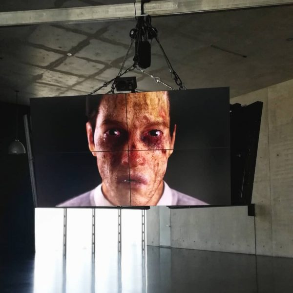 Ed Atkins @kunsthausbregenz Works: Safe Conduct, 2016 Good Man, 2017 Hisser, 2015 Happy ...