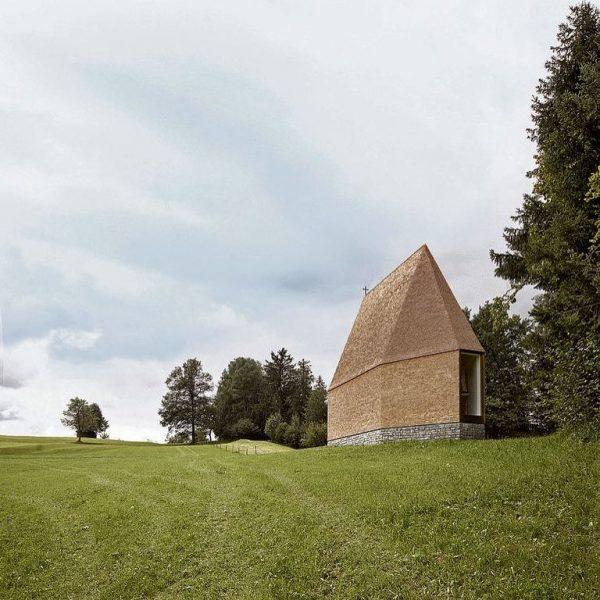 Salgenreute Chapel in Krumbach, Austria by Bernardo Bader Architekten . . . #alpinearchitecture ...