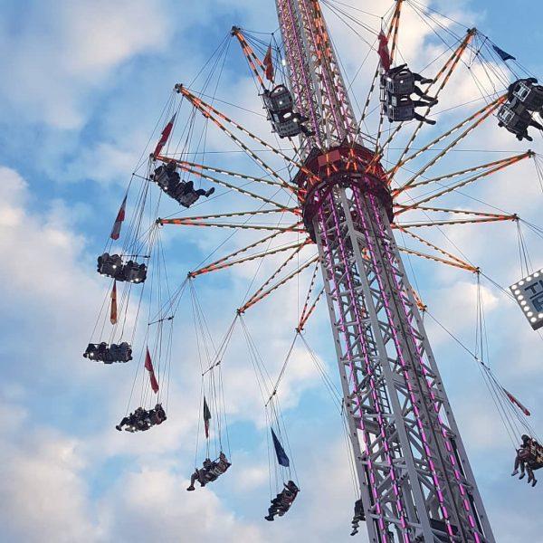 We are flying high! High up to the sky! #frühlingsfest #bregenz #vorarlberg #visitvorarlberg ...