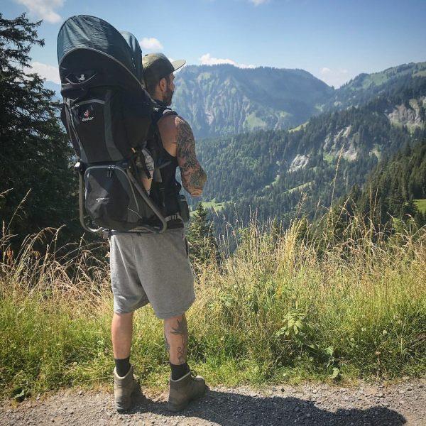 Beautiful hiking day with my wife 👩🏻and my Boy 👦🏼 Dornbirn > Karren ...