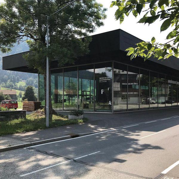 #werkraum #andelsbuch #peter #zumthor #vorarlberg #bregenzerwald #architecture #wood #glass #steel #handcrafted #exhibition #bulli ...