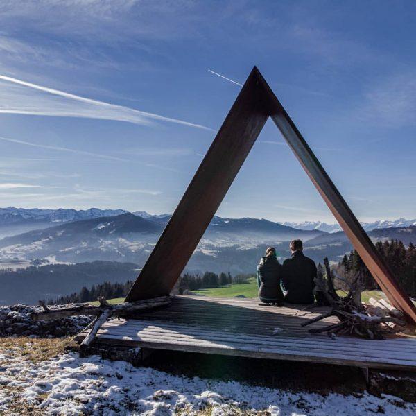 ■ Doren ■ . . . . . #greenchristmas #dreieck #winter #austria #sky ...