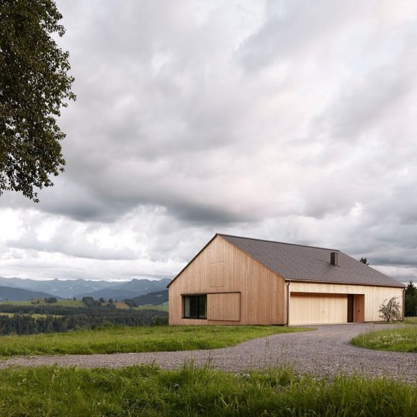 Haus Kaltschmieden in Doren, Austria by Bernardo Bader Architekten Photo by Adolf Bereuter ...