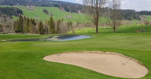 🏌️⛳ #golfparkbregenzerwald #golf #spring #riefensberg #bregenzerwald #oberstaufen #golfplatz #fairway #green #bunker #golfcourse Golfpark Bregenzerwald