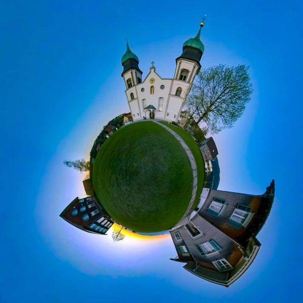 Another one from #bildstein . #tinyplanet #photosphere #360 #360photography #panorama #snapseed #insta360 #insta360onex ...