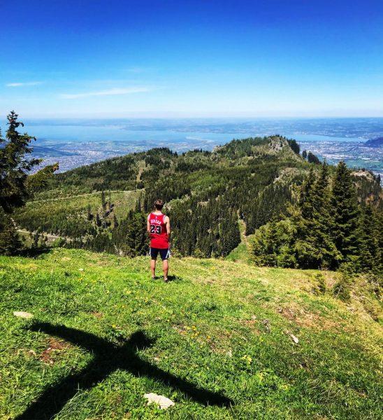 One picture - three countries #wanderlust #exploreaustria #schönermann #bodensee Ebnit, Vorarlberg, Austria