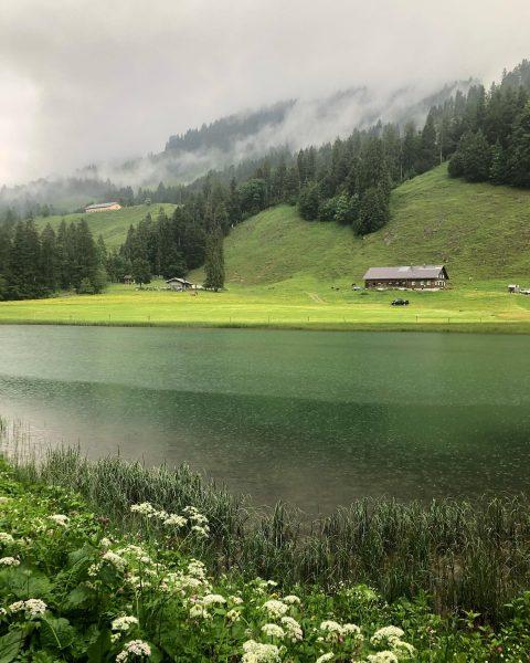#lecknertal #lecknersee #hittisau #bregenzerwald #vorderwald #vorarlberg #austria #nagelfluhkette #rainyday #shotoniphone