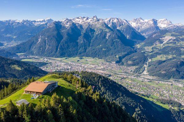 😍 Einfach atemberaubend ist das morgentliche Panorama von der #Frassenhütte aus in #unserealpen ...