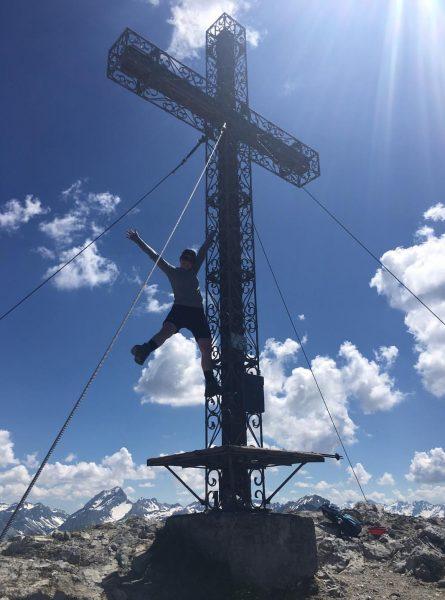 >> Erster Gipfel dieses Jahr - Hoher Fraßen