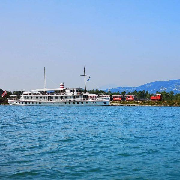 2 auf einen streich.. Rheinbähnle und Österreich #attraktionen #rheinbähnle #rheinschauen #Österreich #schiff #bodenseeschifffahrt ...