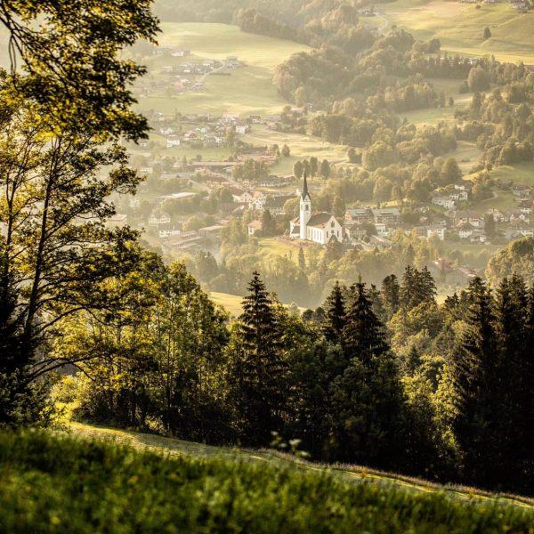 Ein Sommermorgen im #bregenzerwald ❤️ not bad at all 🙂 #landscape_love #nature_captures #vorarlberg ...