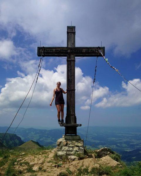 4-Gipfel Tour im Bregenzerwald. Wunderschöne Aussicht, mit Blick auf dem Bodensee 🤗😍 #neuesentdecken ...