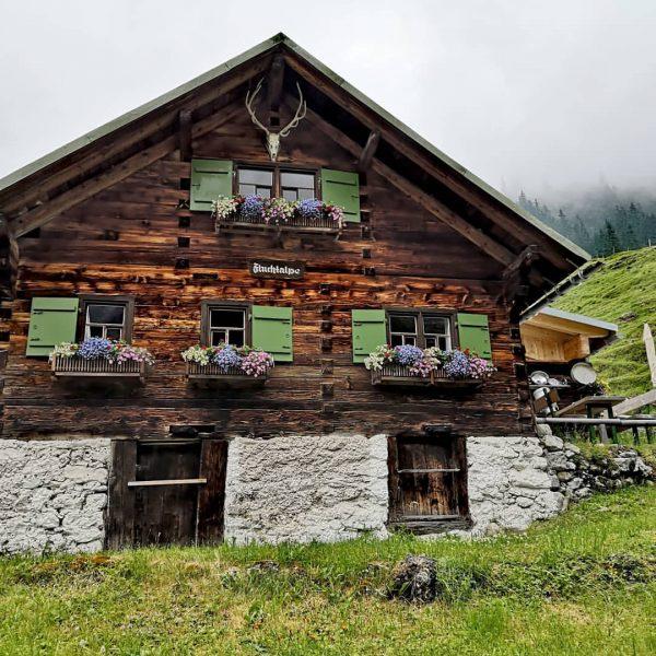 Kleinwalsertal 🏞️ Wildental ➡️ FLUCHTALPE Eigentlich waren wir auf dem Weg zur Fiderepasshütte, ...