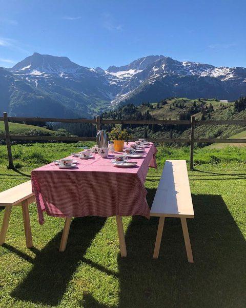 Bergfrühstück auf der Gaisbühelalpe ☀️☀️☀️ Lech, Vorarlberg, Austria