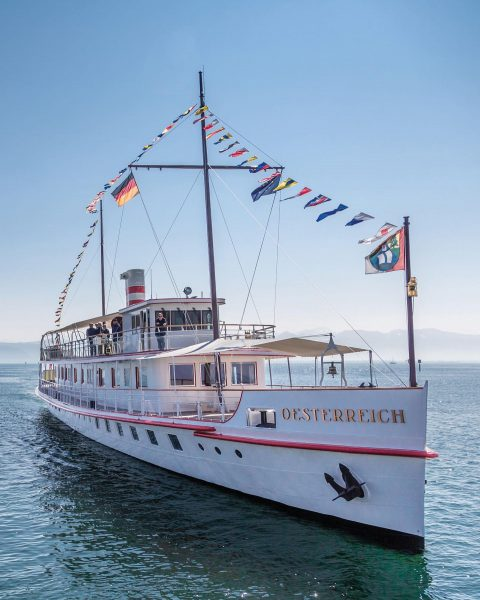 Do you already know this beauty? ⚓️ The MS Oesterreich was put into ...
