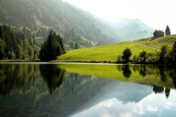 A lake is the landscape's most beautiful and expressive feature. It is Earth's ...