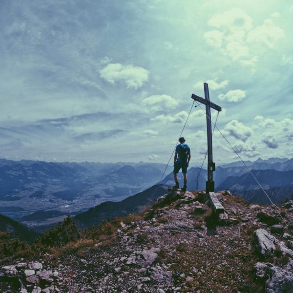 Hohe Köpfe⛰ . . #hoheköpfe #gurtisspitze #mountains #summit #hike #hiking #vorarlberg #austria #sun ...