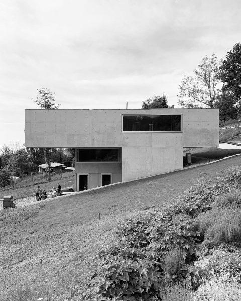 house z #dornbirn by @marte.martearchitects #constructionsite #concretearchitecture #martemartearchitects #vorarlberg #austria Kehlegg, Vorarlberg, Austria