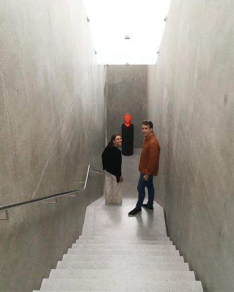 at the Exhibition by Thomas Schütte at Kunsthaus Bregenz 😃 #thomasschutte #kunsthausbregenz #galeriemaximilianhutz ...