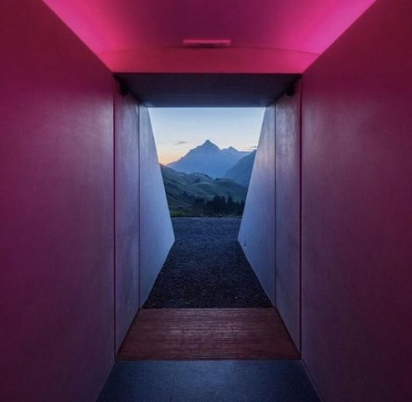 EXPERIENCE - James Turrell's Skyspace Lech, Heaven on Earth. . Nestled between hiking ...
