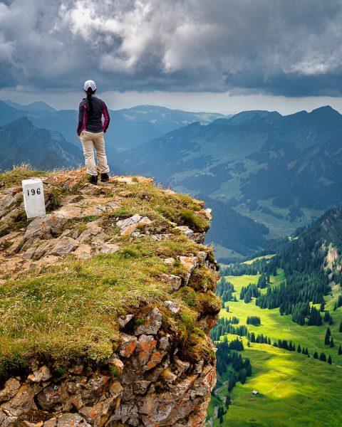 Amazing view from #hoherifen at 2230m #landscape #wanderlust #wandern #austria #vorarlberg #kleinwalsertal #österreich ...