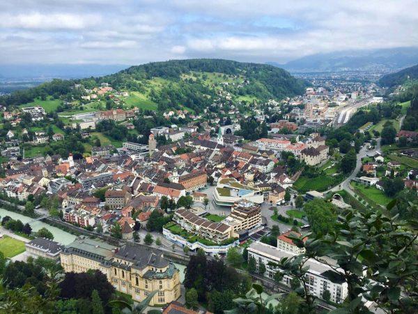 Feldkirch from above - can you spot the Schattenburg castle? #hikingseason #enjoyfeldkirch #visitvorarlberg Feldkirch, Vorarlberg