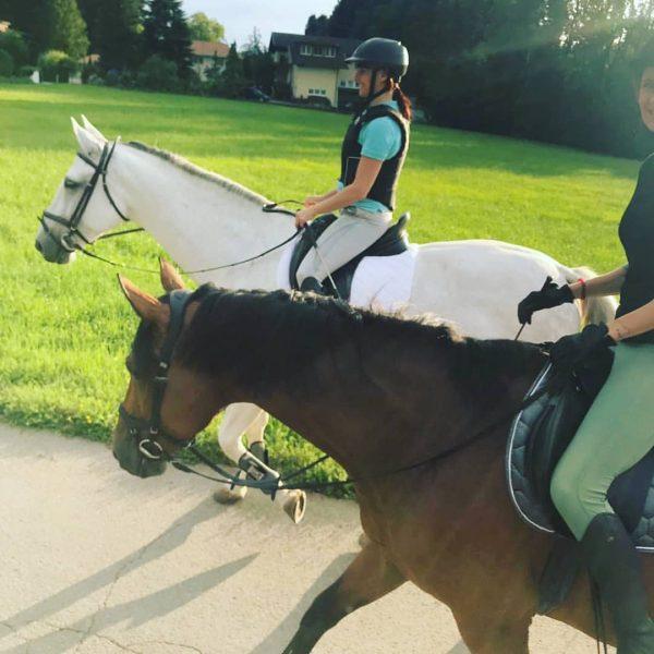 Nach eineinhalb Jahren wieder auf dem #Pferd ❤️ #funnyday #rössler #chill #horse #sommerzeit #vorarlberg #great
