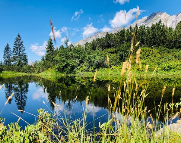 Stubner See am Weg zur #Kaltenberghütte 🌾 Stuben, Vorarlberg, Austria