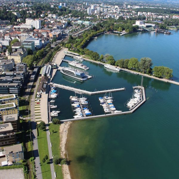The port of #Bregenz from above... The Bregenz littoral was mentioned for the ...