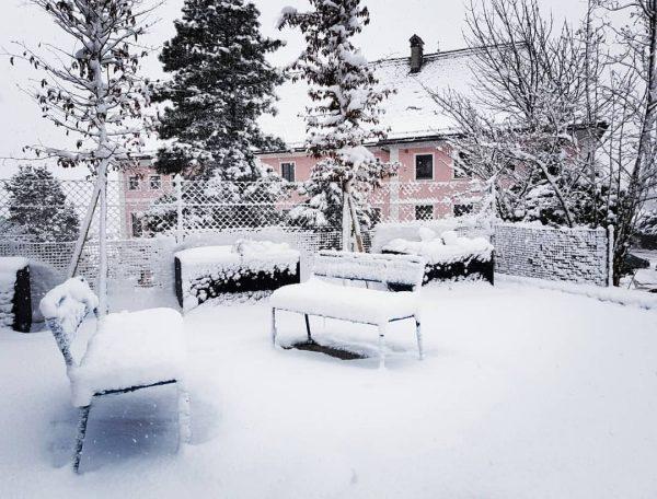Einladend ... Welcome @ Schlosshotel #Winter #weissepracht #winterurlaub #bludenz Schlosshotel Dörflinger