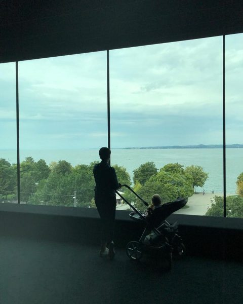 Museum with a view #vorarlbergmuseum #bodensee #familytime #weekendvibes Vorarlberg Museum