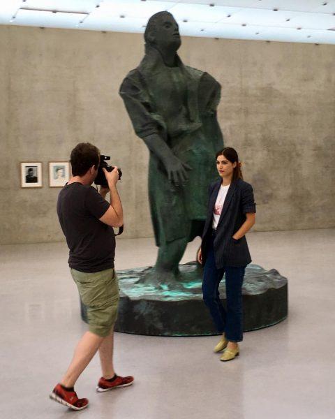 making of #bregenzerleben2020 #kunsthausbregenz #sophiaburtscher #visitbregenz