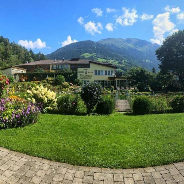 Der September zeigt sich von seiner schönsten Seite🌞🌞 #hotelvitalquelle #herbstklopftan #sonne #genießen #schruns ...