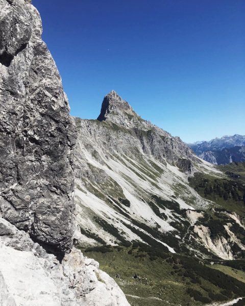 #saulakopf #klettersteig #viaferrata #rätikon #vorarlberg #bergfinkontour Saulakopf