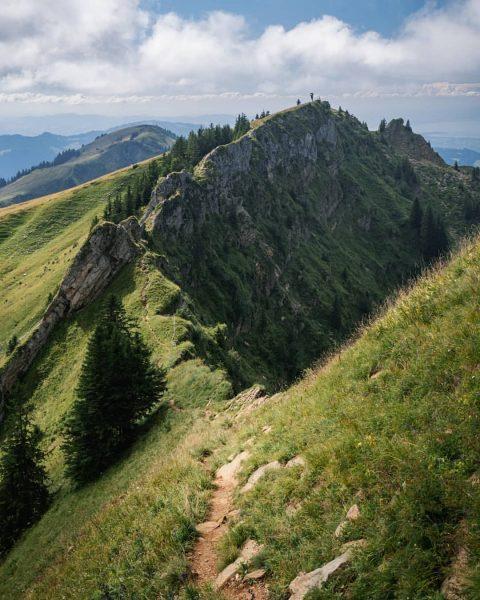 Went on a hike to Mt. Winterstaude in the Bregenzerwald, Vorarlberg. 🏔 . ...